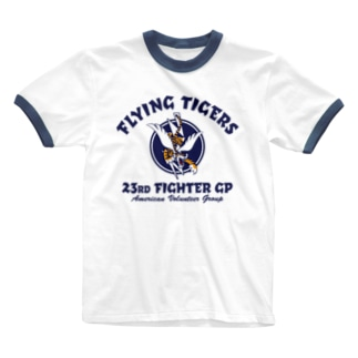 FLYING TIGERS Ringer T-shirts
