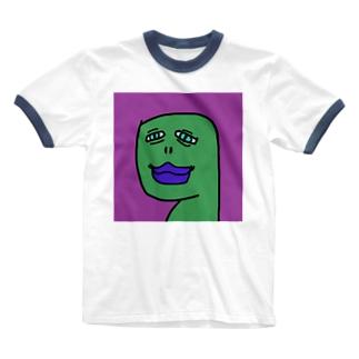 マイケル・ダンシング・山本 Ringer T-shirts