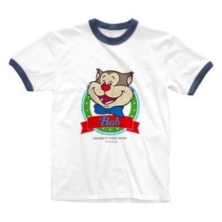 ボブ(サークル) Ringer T-shirts