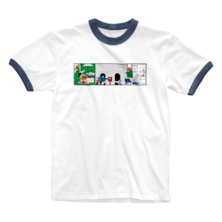 APARTMENT  Ringer T-shirts
