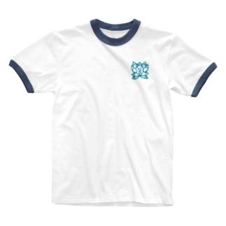 妖立狐之葉髙等学校 Ringer T-shirts