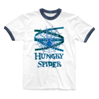 Hungry_Spider Ringer T-shirts