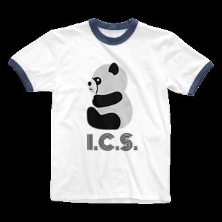 🍛イハナカリーストア🍛の小咖喱研究会 Ringer T-shirts