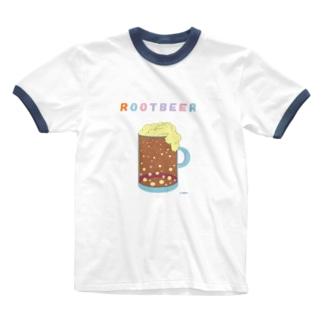 ルートビアTシャツ Ringer T-shirts