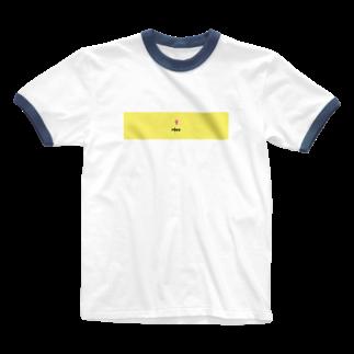 HeaのHea logo Ringer T-shirts
