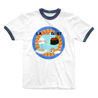LAIKA  DŪST 応援グッズ Ringer T-shirts