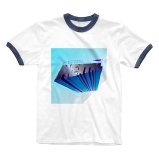 メタルなメンタル Ringer T-shirts