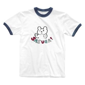 SASUGA! Ringer T-shirts