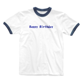 Happy Birthday グッズ Ringer T-shirts