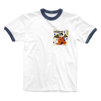 和の収穫祭~Halloween~ Ringer T-shirts
