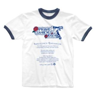 RGXInnocence Enhancer淡 Ringer T-shirts