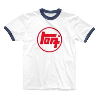 トロダ トヨタのパロディ Ringer T-shirts
