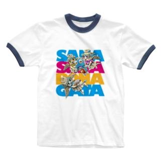 妖精に召された魚2 Ringer T-shirts