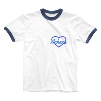 Aoharu Ringer T-shirts