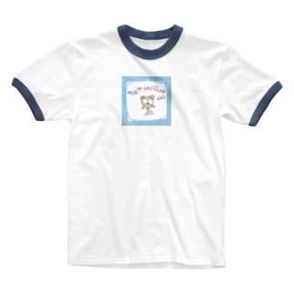 明日は晴れるかな? Ringer T-shirts
