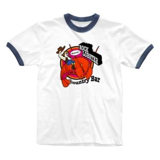 ROCK LOBSTER Ringer T-shirts