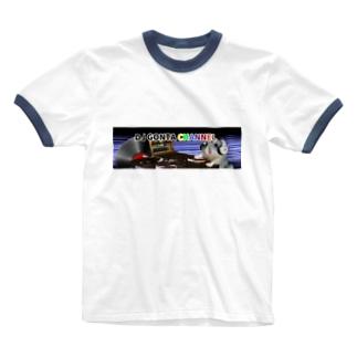 DJ GONTA Jr.ちゃんTシャツ Ringer T-shirts