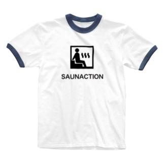 サカナクション好きなサウナー Ringer T-shirts