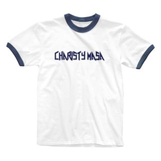 チャリスティマサ Ringer T-shirts