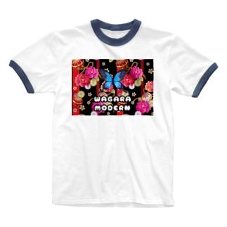 WAGARA MODERN Ringer T-shirts