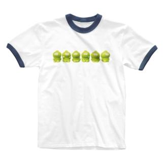 整列ベビィミトロ Ringer T-shirts
