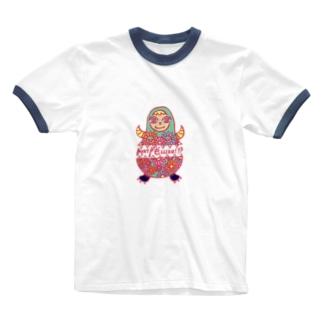 マトリョーシ怪獣 Ringer T-shirts