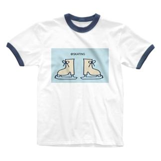@skating Ringer T-shirts