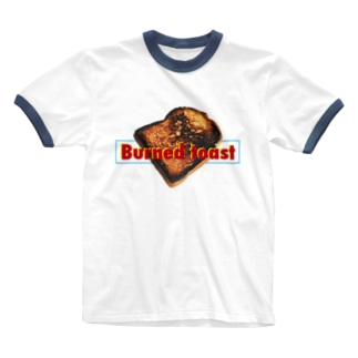 焦げたトースト Ringer T-shirts