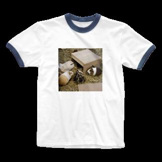 キシエリカのモルモッツ Ringer T-shirts