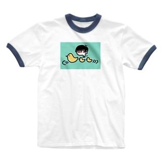 火照った僕ら Ringer T-shirts