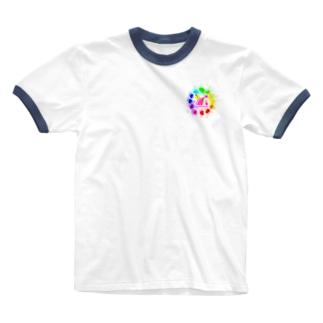 #フォロワーが増えます Ringer T-shirts