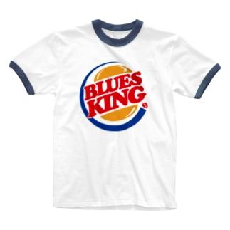 BLUES KING Ringer T-shirts
