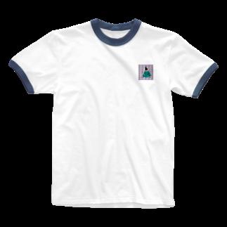 Hararingoの05.thinking Ringer T-shirts