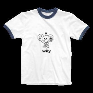 yuria8888の可能性の風船 Ringer T-shirts