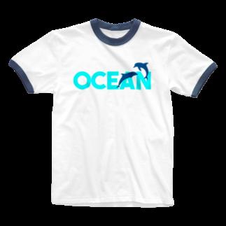JOKERS FACTORYのOCEAN Ringer T-shirts
