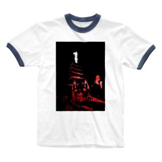 平氏旗艦「武雷乃祭壇」 Ringer T-shirts