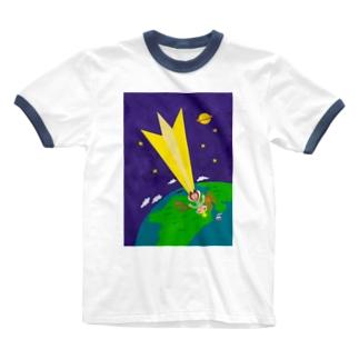 星の王子さま〜地球に落ちて来た王子さま Ringer T-shirts