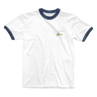 さそいもんく(ロゴなし) Ringer T-shirts