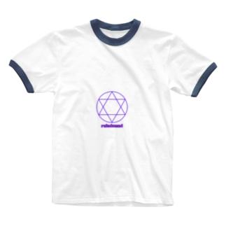六芒星 Ringer T-shirts
