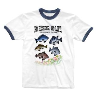 FISHING_S4C Ringer T-shirts