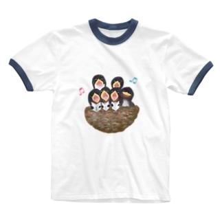 ♬コーラス♬ Ringer T-shirts