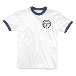 ホラえもん君 Ringer T-shirts