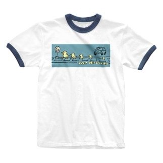 EMK SHOPSITE のthe birdway Ringer T-shirts