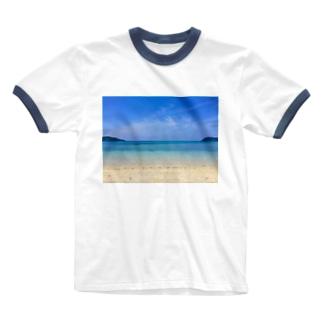 secret blue Ringer T-shirts