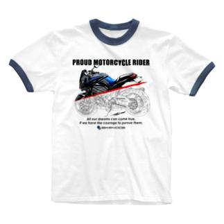SUZUKI GSX S1000S Tシャツ Ringer T-shirts