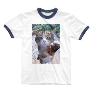 ボスネコT Ringer T-shirts