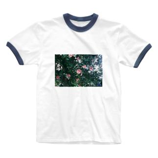 KST 深緑の誘われ Ringer T-shirts