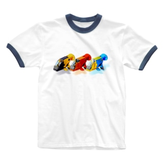 GUPPY(3色) Ringer T-shirts