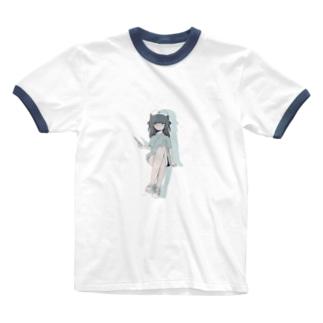 チャイナ〜ス Ringer T-shirts