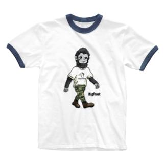 UMA ビッグフット Ringer T-Shirt